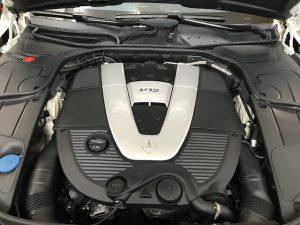 マイバッハV12-S650ツートンラッピングエンジン