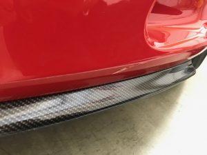 フェラーリ812スーパーファストカーボンラッピングフロントリップスポイラー