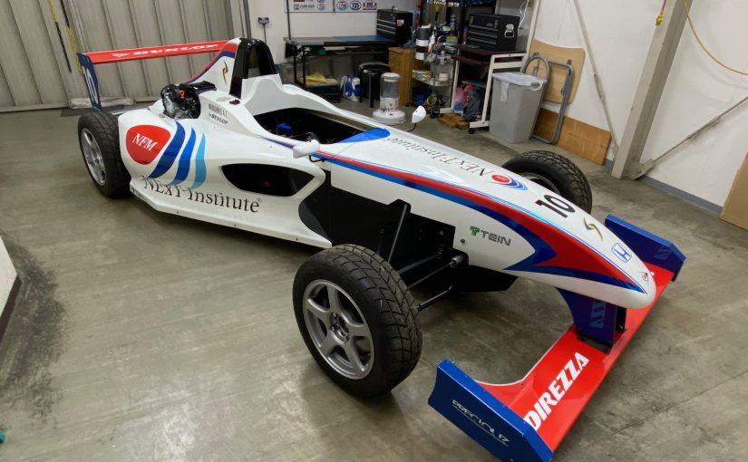 フォーミュラーエンジョイ2(EF2) デザインラッピング レーシングカーオリジナルカラーリング  racingcar wrap